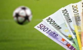 billets euros ballon foot